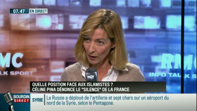 Vidéo – Face aux islamistes, Céline Pina (élue PS) dénonce le « silence » complice des politiques et des journalistes au nom du «pas d'amalgame»