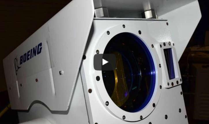[Vidéo] – Boeing a développé une solution : le «canon laser», capable de détruire les drones