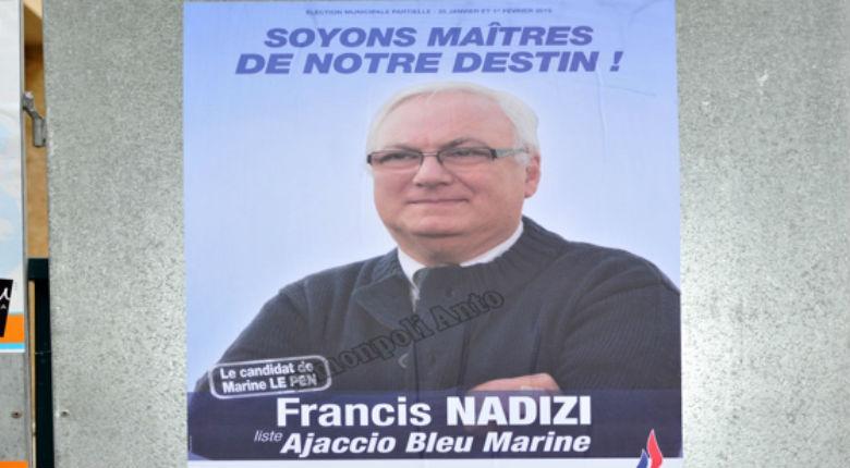 Corse : Le candidat FN reçoit des menaces et injures à caractère antisémites