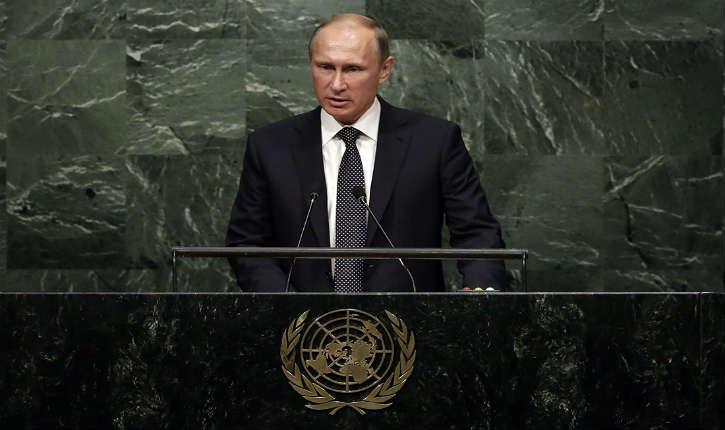 Vladimir Poutine propose à l'ONU une coalition incluant l'Iran et le régime syrien contre l'Etat islamique