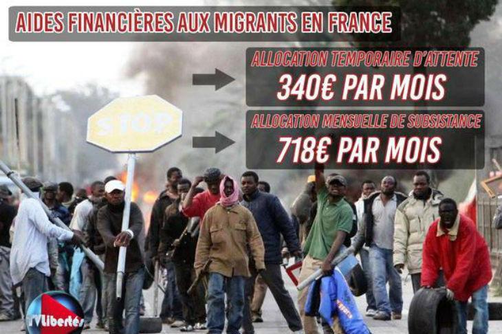 Contre-enquête : Metronews ment. Voici les vraies allocations auxquelles ont droit les migrants en France !
