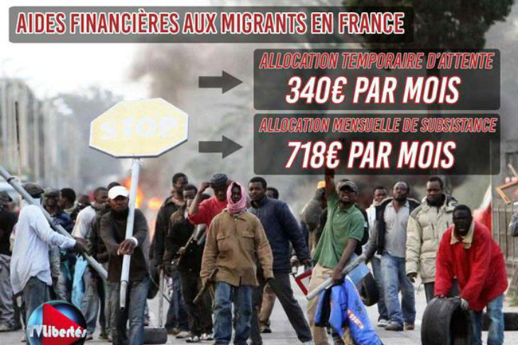 Migrants Aide Par La Caf