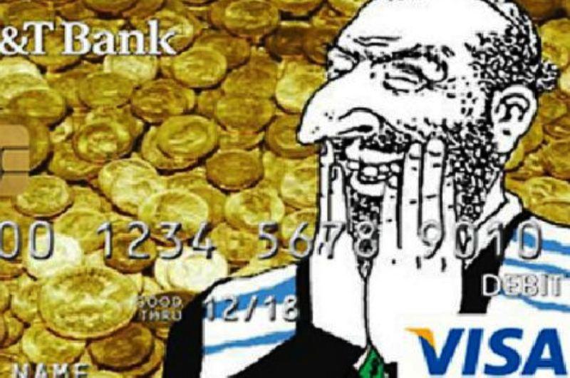 Emission d'une carte bancaire antisémite en Norvège