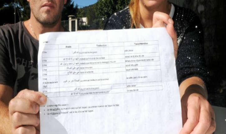 Saint-Ambroix: Les parents d'élèves choqués par un document «L'appel à la prière des musulmans» remis aux élèves