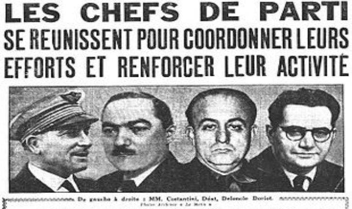 Triple paradoxe français – 1920-1944