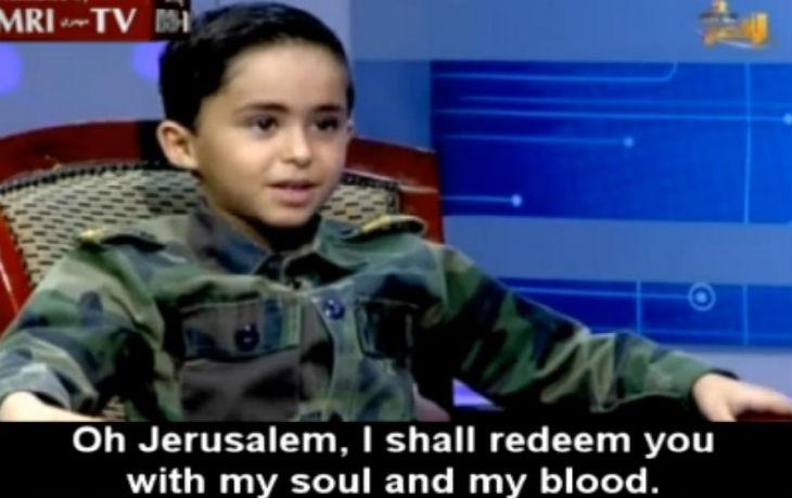 Des enfants à la TV palestinienne Al-Aqsa  «Nous voulons mener le djihad et faire exploser les Juifs»