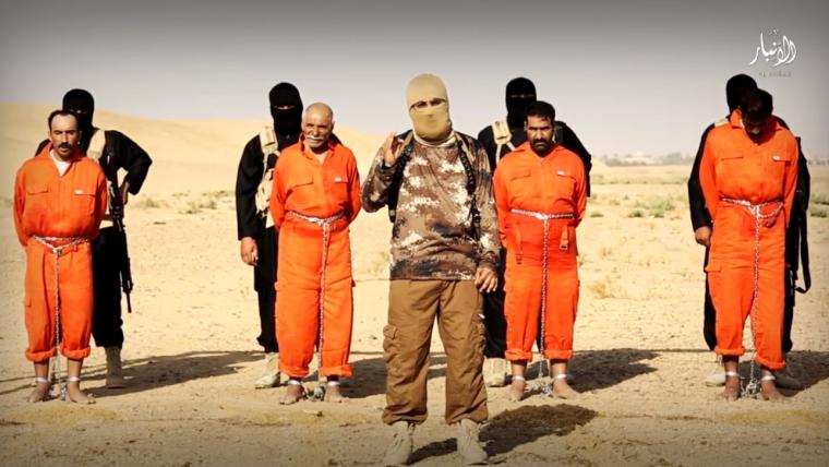 Daesh brûle vif 4 individus chiites