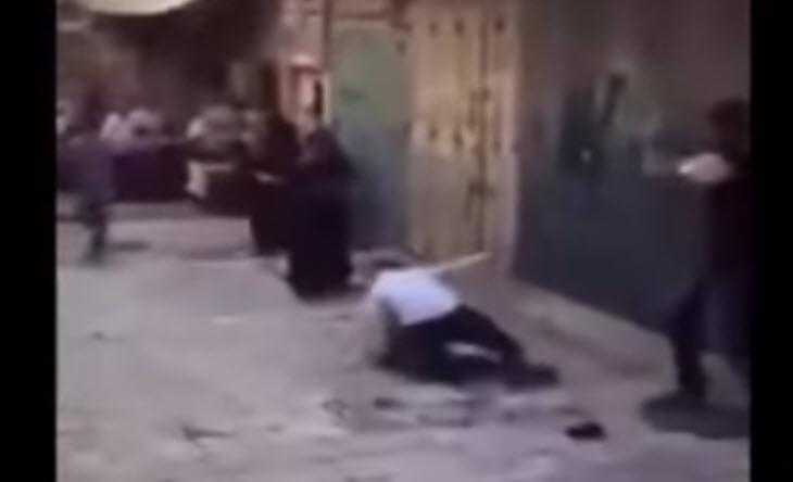 [Vidéo] Rosh hashana 2015 : un juif en talit et téfiline se fait lapider