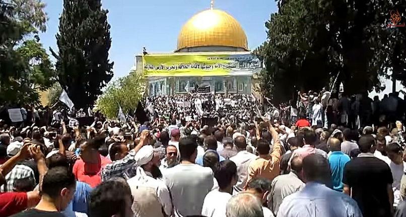 Les sermons palestiniens à la mosquée Al-Aqsa sont des appels à la haine et à la violence contre l'Europe, les Etats Unis, Israël et la Jordanie