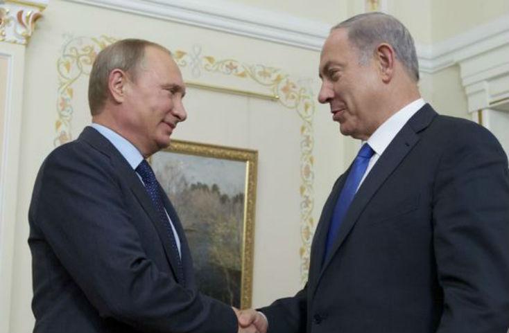Poutine à Netanyahu «La Syrie ne doit pas ouvrir un nouveau front contre Israël. Notre but principal est de défendre l'Etat syrien «