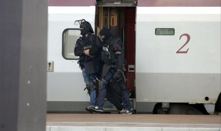 [Vidéo] Panique dans le Thalys à Rotterdam (18/10): l'individu interpellé est un ado de 16 ans