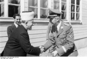Großmufti Amin al Husseini, Heinrich Himmler