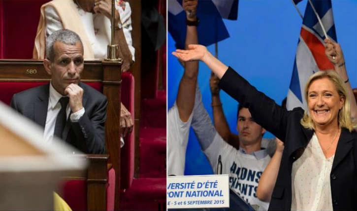 Le député PS Malek Boutih constate qu'en l'état actuel des choses, Marine Le Pen gagnerait les élections présidentielles