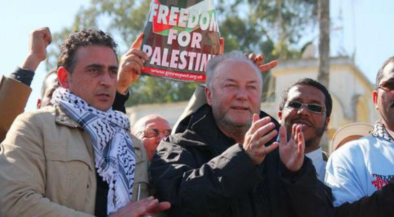 Londres: L'ex-député antisémite George Galloway appelle à une nouvelle Intifada