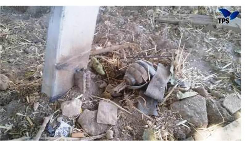 Les terroristes arabes ont posé un piège avec une grenade dégoupillée dans un secteur touristique apprécié des randonneurs