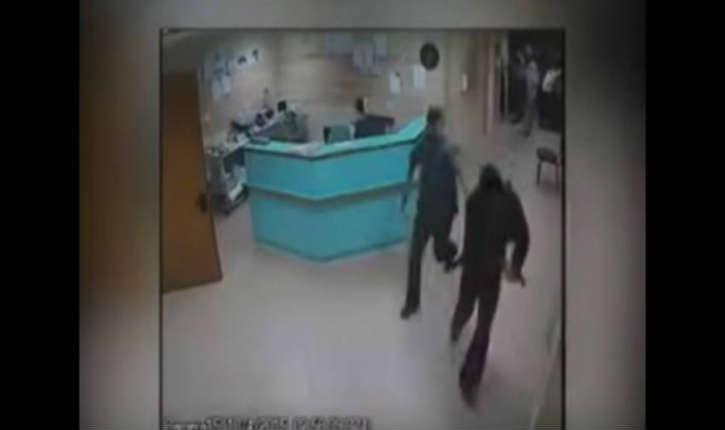 Vidéo de la capture des assassins des parents Henkin à l'hôpital