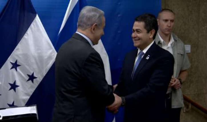 [Vidéo] Israël: le président Hernandez a déclaré « Aussi longtemps que je serai président, Honduras défendra Israël »