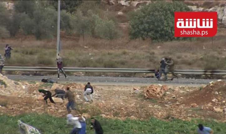 [Vidéo] Les forces de sécurité israéliennes arrêtent des émeutiers arabes près de la ville de Bet El