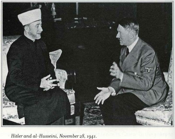 Condamné pour avoir montré le grand Mufti de Jérusalem avec des Nazis