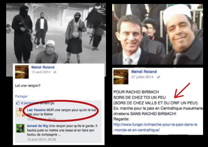 Valls et Rachid Birbach