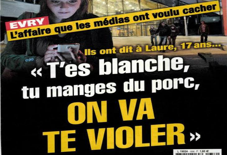 L'affaire du viol d'Evry « T'es blanche, tu manges du porc, on va te violer. Toutes les Françaises sont des putes ». Les juges ne retiennent pas la motivation raciste…