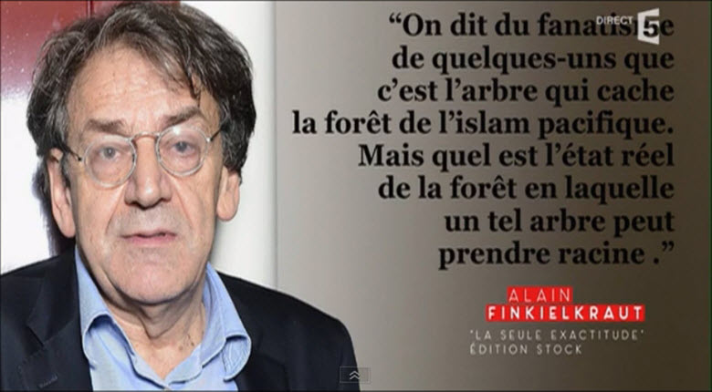 Finkielkraut : « François Hollande mettrait aujourd'hui, en prison, le Général De Gaulle … »
