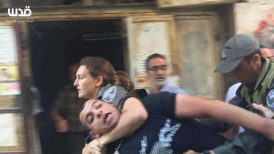 femme israelienne soldate police israel jerusalem
