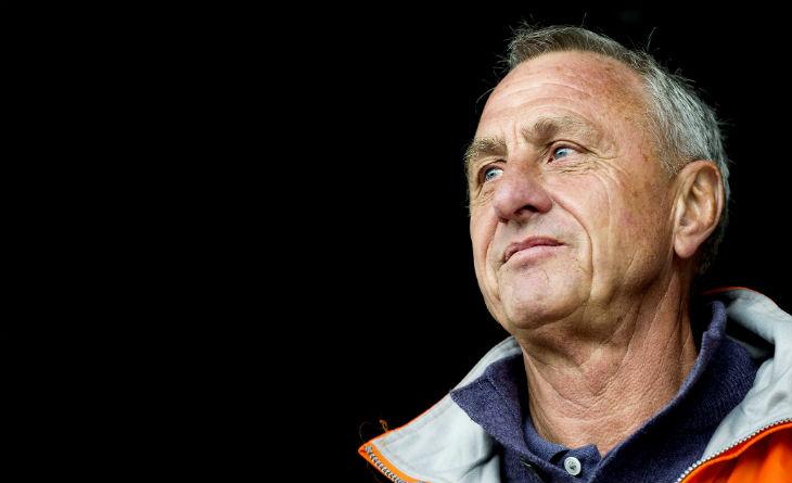 Une banderolle antisémite contre Yohan Cruyff lors d'un match de football