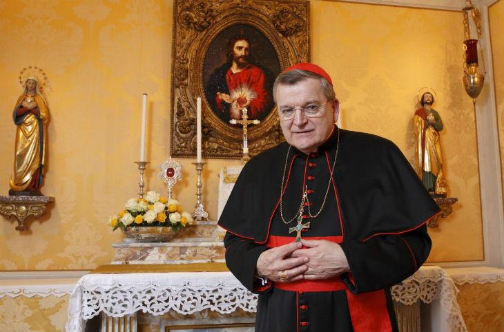 Le Cardinal Burke : «Face à l'islam l'angoisse ressentie est justifiée. L'Islam dans sa dimension politique a l'ambition de gouverner le monde.»