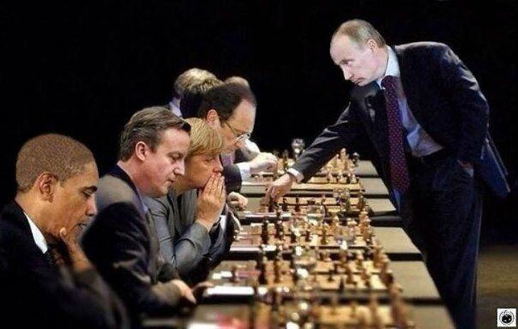 Syrie: Poutine joue aux échecs. Les autres feignent l'idiotie