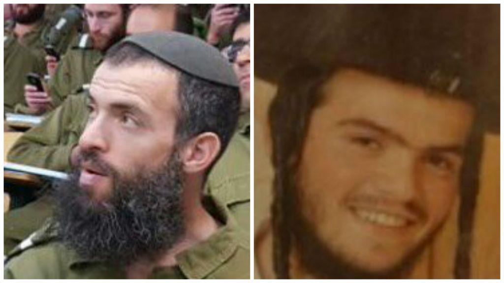 Les victimes de l'attaque fatale de Jérusalem le samedi 3 octobre 2015 :Néhémie Lavi, 41 ans (à gauche) de Jérusalem, et Aharon Banita, 22 ans (droite) de Beitar Illit