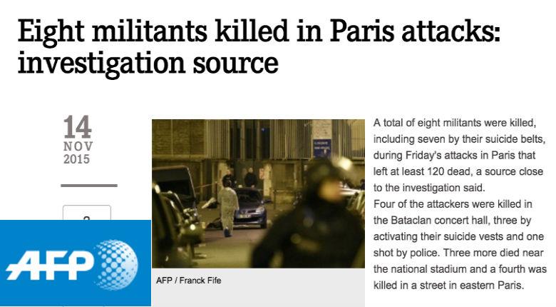 L'AFP, l'Agence française de propagande : mensonges, manipulations, omissions à propos de la menace islamiste