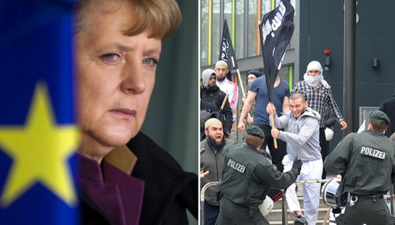 """Les allemands opposés à l'immigration de masse sont """"libres de partir"""". Par Soeren Kern"""
