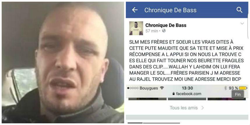 Appels au meurtre contre des «beurettes» : Le blogueur «Chronic 2 Bass», l'auteur du coup de gueule contre les terroristes, appelle au meurtre de plusieurs jeunes femmes arabes