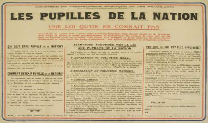 Pupille De La Nation