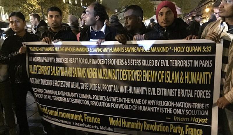 Seulement 30 musulmans ont manifesté à Paris contre les récentes attaques djihadistes
