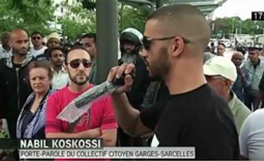 Nadil Koskossi organisateur de la manifestation du 20 juillet 2014