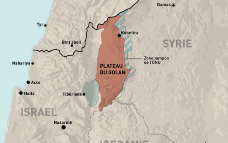 Netanyahu demande à Obama de reconnaitre la souveraineté d'Israël sur le plateau du Golan
