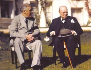 Roosvelt et Churchill