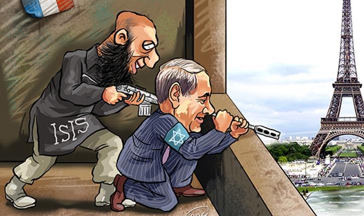 Le délirium du moment: «Israel est derrière Daesh»