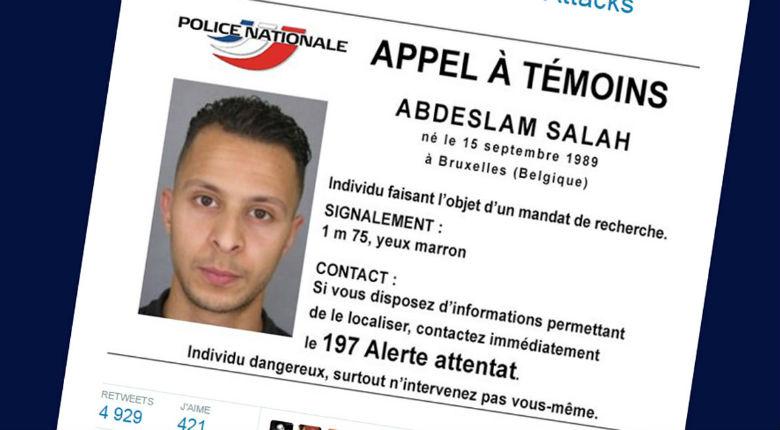 Attentats à Paris : la police lance un appel à témoins d'un individu suspecté d'être impliqué