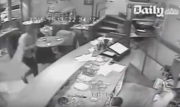 Video exclusive: l'attaque du Petit Cambodge par l'Etat Islamique filmée par les caméras de sécurité