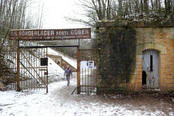 A Metz, un ancien camp de concentration nazi profané et tagué