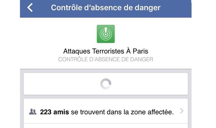 Paniqués, les Parisiens se tournent vers une application Facebook made-in-israel