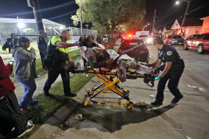 Louisiane: des coups de feu tirés dans une foule
