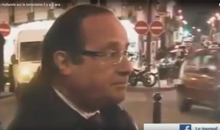 [Video] – Retour il y a 5 ans, quand François Hollande se prononçait sur «l'escalade sécuritaire et les accusations de terrorisme».