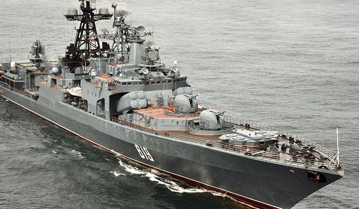 Un destroyer russe tire pour «éviter une collision» avec un bateau turc