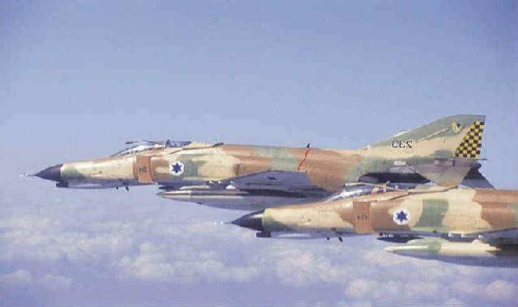 L'aviation israélienne détruit une batterie de missiles en Syrie