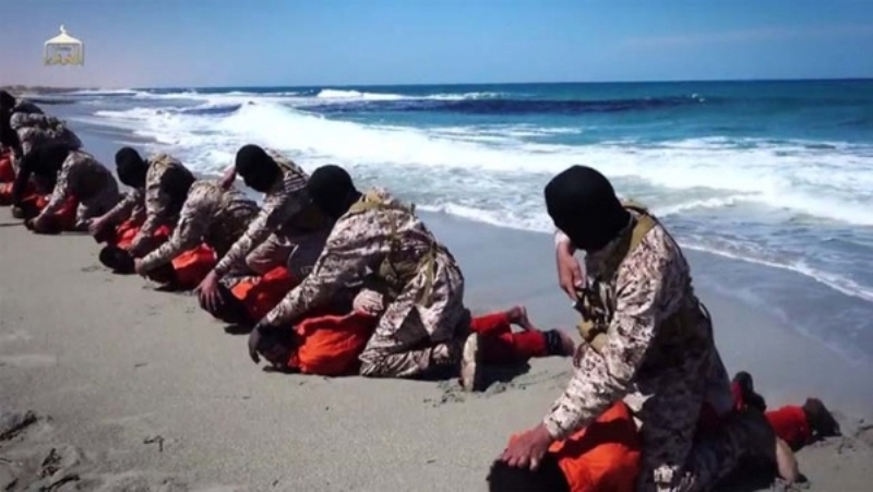 Christians being Murdered on the Beach