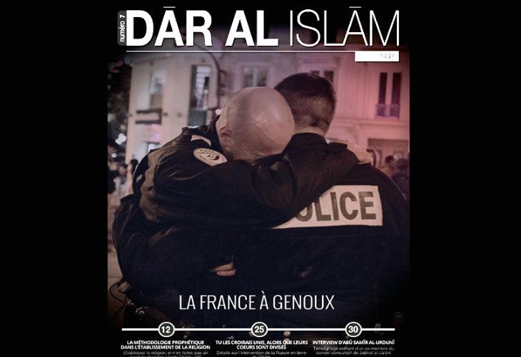 L'Etat islamique en français : « Le 13 novembre n'est qu'un début. Les fonctionnaires de l'éducation nationale qui enseignent la laïcité doivent être tués»